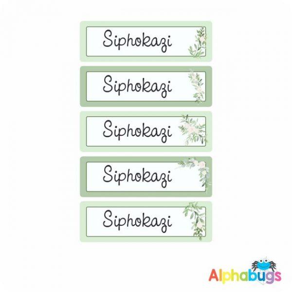 Large Name Labels – Siphokazi
