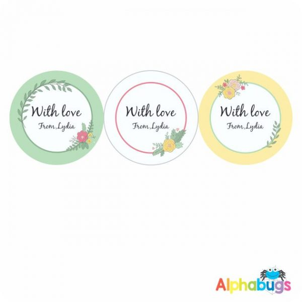 Gift Labels -Lydia (Round)