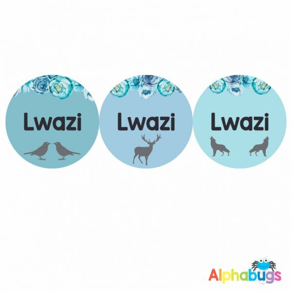 Large Round Labels – Lwazi