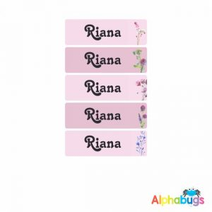 Small Name Labels – Riana