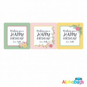 Gift Labels – Lydia (Square)