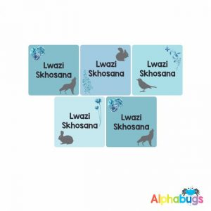 Square Labels – Lwazi