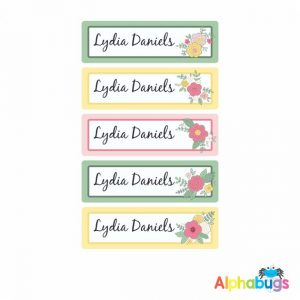 Large Name Labels – Lydia