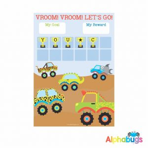 Magnetic Reward Chart – Monster Movers