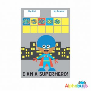Magnetic Reward Chart – Superboy 1