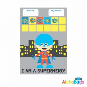 Superboy Magnetic Charts