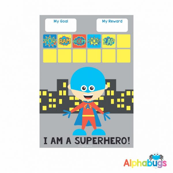 Magnetic Reward Chart – Superboy 2