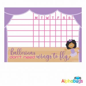 Ballerina Magnetic Charts