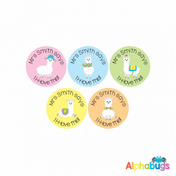 . Pre-Designed Personalised Stickers