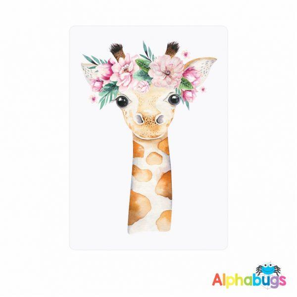 Flower Crown Watercolour Animals