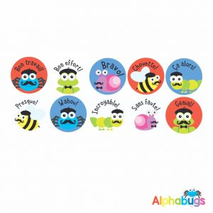 French Stickers – Pack 3