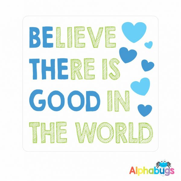 Wall Decor – Be The Good (Blue)