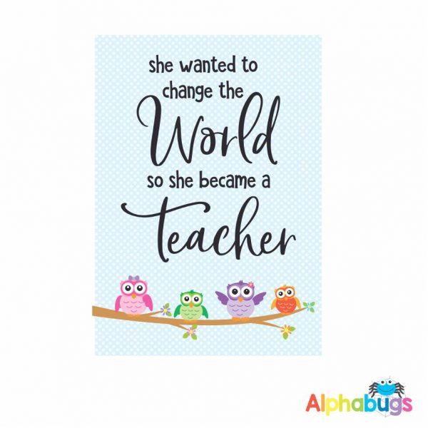 Teacher Decor
