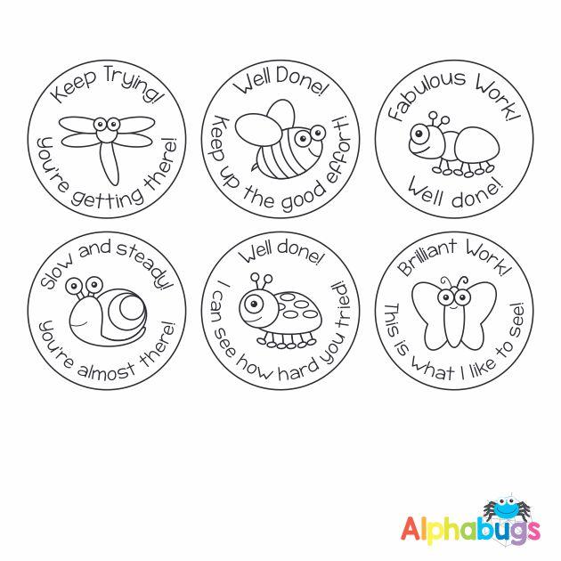 Stamp Set – Alphabugs 3cm