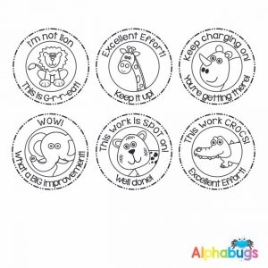 Stamp Set – In the Wild 3cm