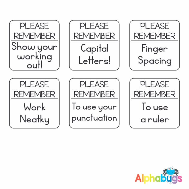 Stamp Set – Please Remember 3cm