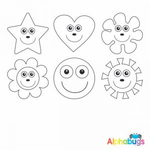 Stamp Set – Smileys 2cm