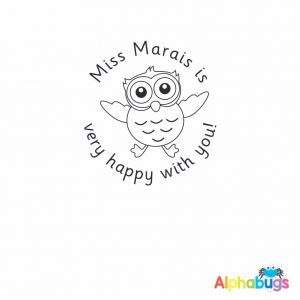 Personalised Stamp – Wise Owl