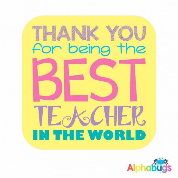 Fridge Magnet – Best Teacher 2