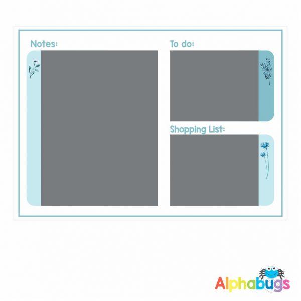 Magnetic Organiser – Chalkboard Lwazi A4
