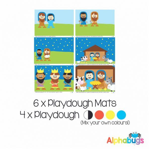 .Playdough Play Set – A Saviour is Born (6M+4D)