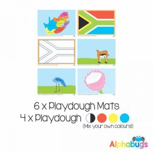 .Playdough Play Set – Ubuntu 6 (6M+4D)