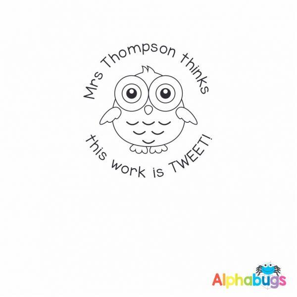 Personalised Stamp – Tweety Pie