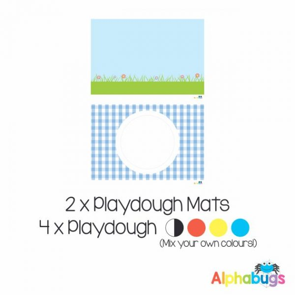 .Playdough Play Set – Free Play 1 (2M+4D)