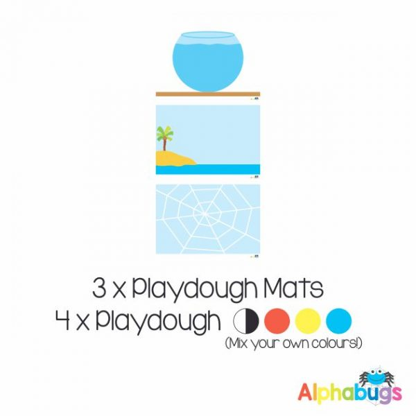 .Playdough Play Set – Free Play 1 (3M+4D)