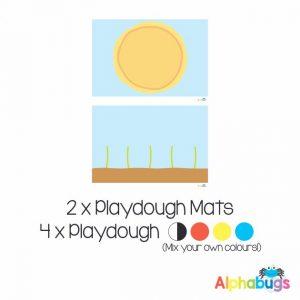 .Playdough Play Set – Free Play 1 (2M+4D)