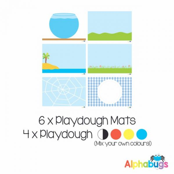.Playdough Play Set – Free Play 1 (6M+4D)