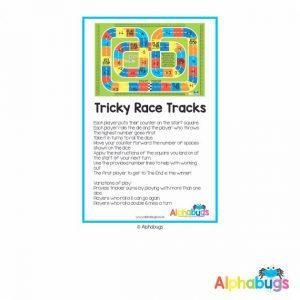 Home Printable – Tricky Race Tracks