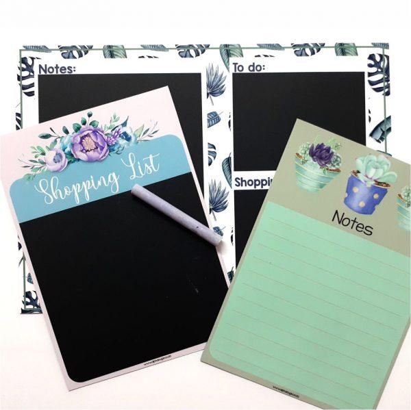 Magnetic Organiser – Write n Wipe Rebecca A5