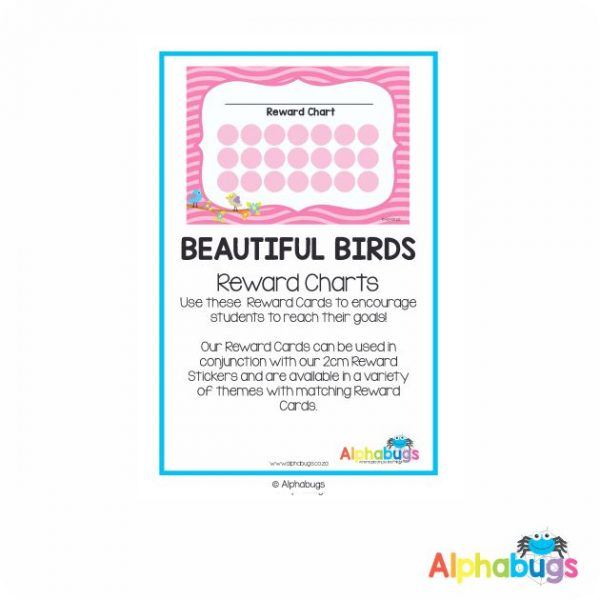 Classroom Decor -Beautiful Birds Reward Charts
