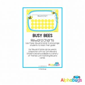 Classroom Decor – Busy Bees Reward Charts