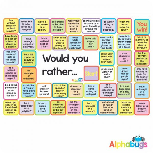 Mat Game – Would You Rather…