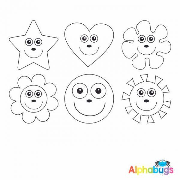 Stamp Set – Smileys 3cm