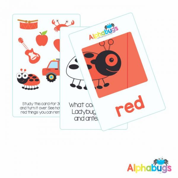 Flashcards – I know My Colours