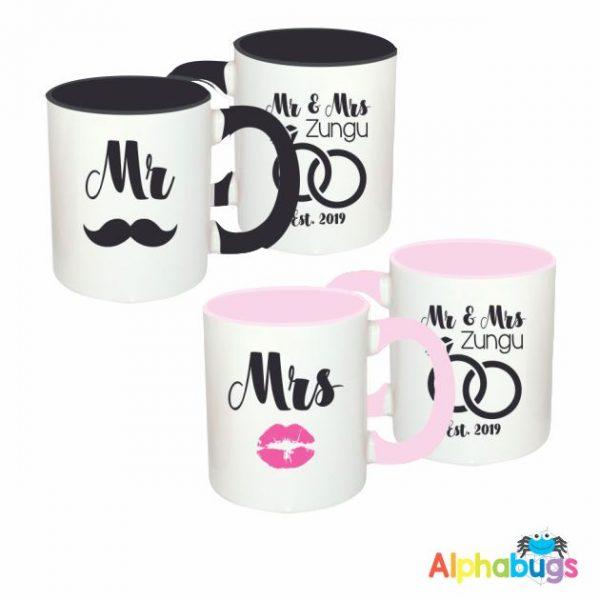 Mugs – Couples – Mr & Mrs Zungu