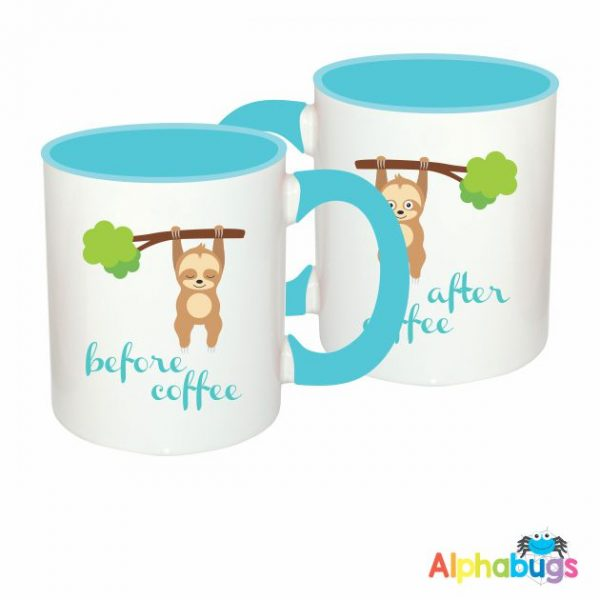 Mugs – A Slumber Of Sloths – Before & After 1