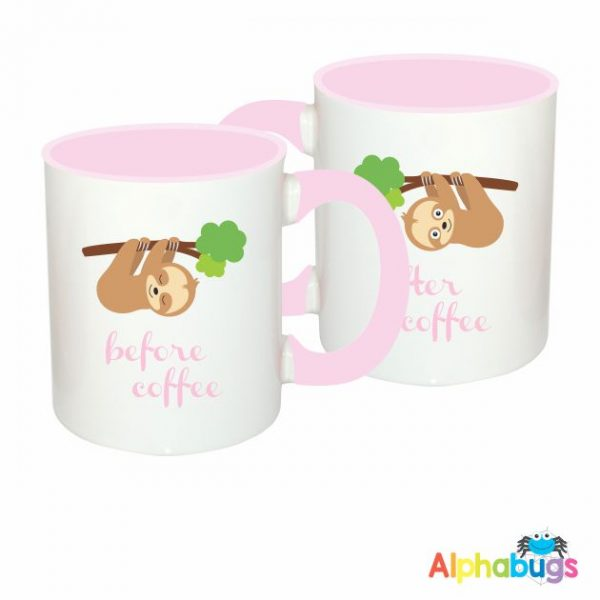 Mugs – A Slumber Of Sloths – Before & After 2