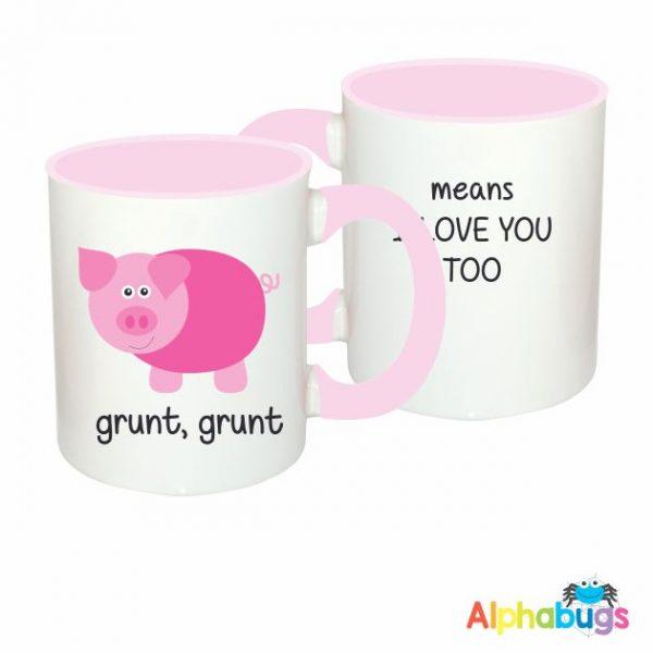 Mugs – This Little Piggy – I Love You Too