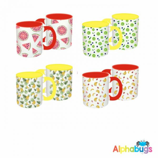 Mug Set – Fancy Fruit
