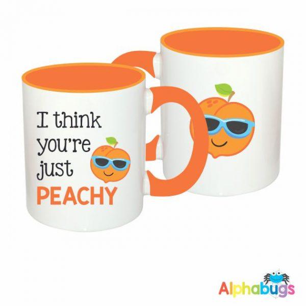 Mugs – Cutie Fruity – Peachy