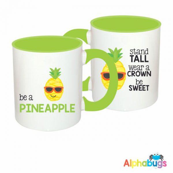 Mugs – Cutie Fruity – Pineapple