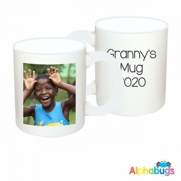 Photo Mug – plus Message