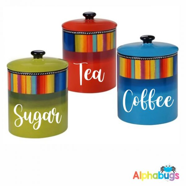 Canister Labels – Trendy Transfers