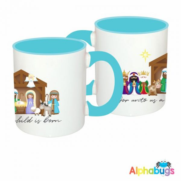 Mugs – For unto us a Child is Born