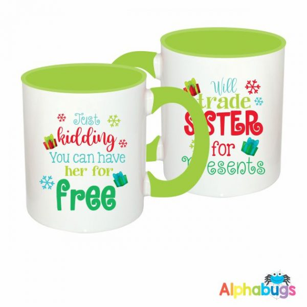 Mugs – Will Trade Sister