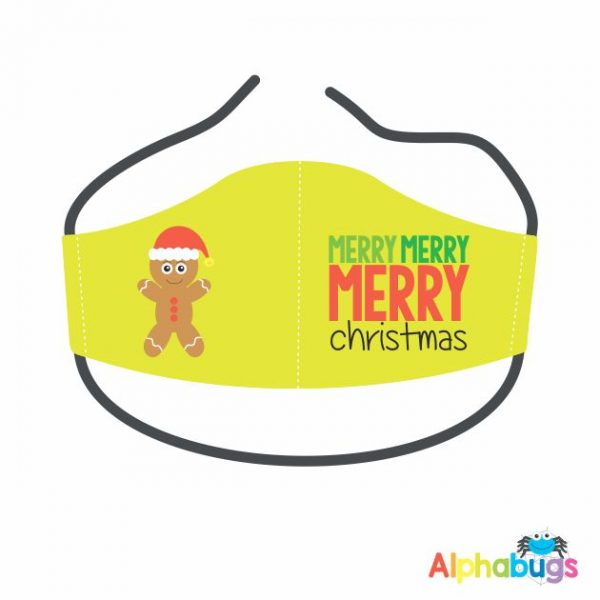 Face Mask – Christmas Characters Gingerbread Man